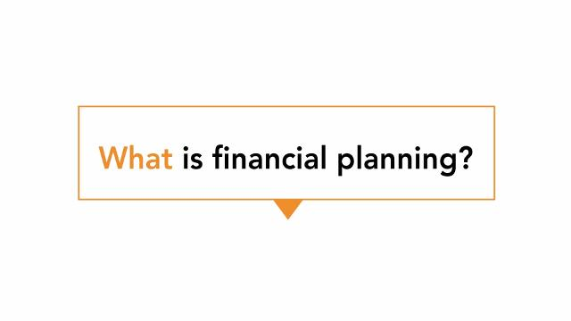 "The voice of consumers on ""Personal Financial Planning"""
