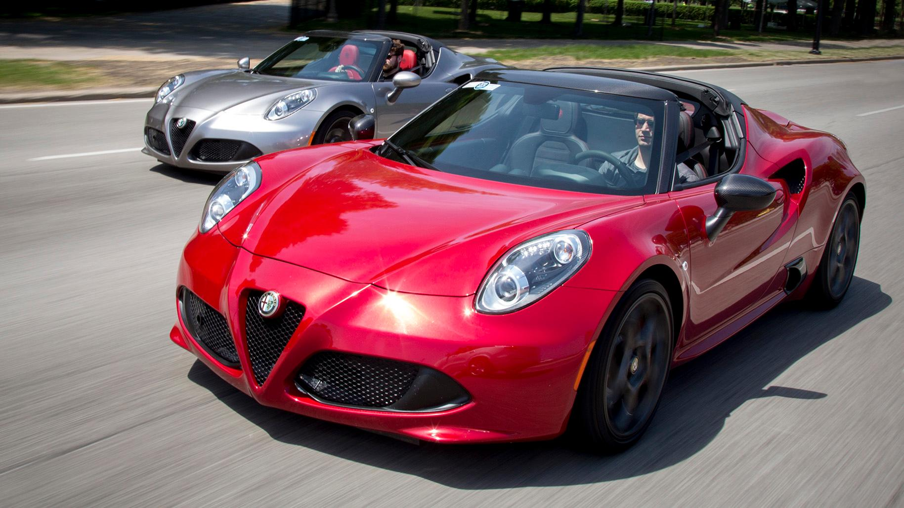 Alfa vs. Alfa: 4C and 4C Track Package