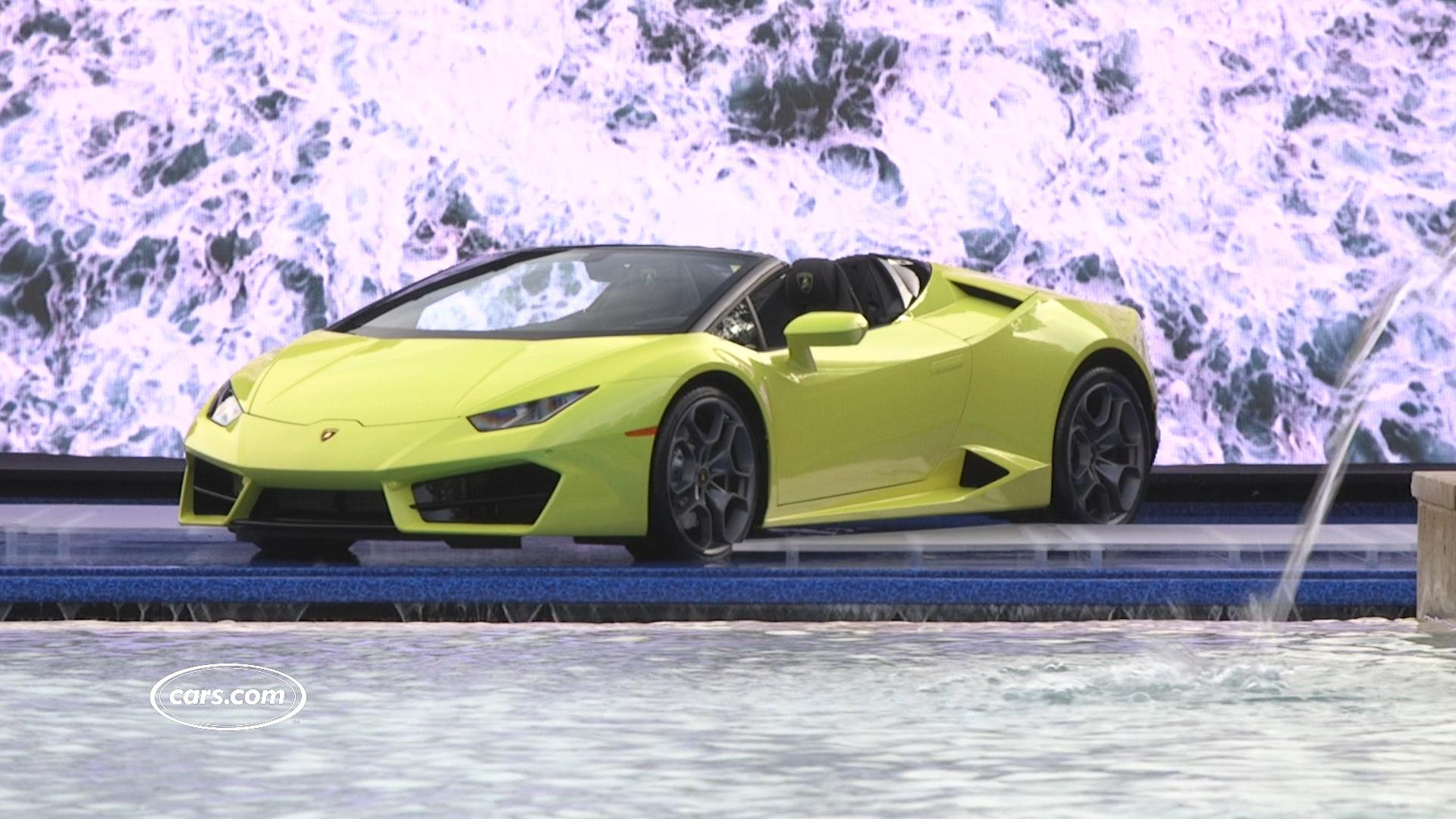 2017 Lamborghini Huracán RWD Spyder Review: First Impressions