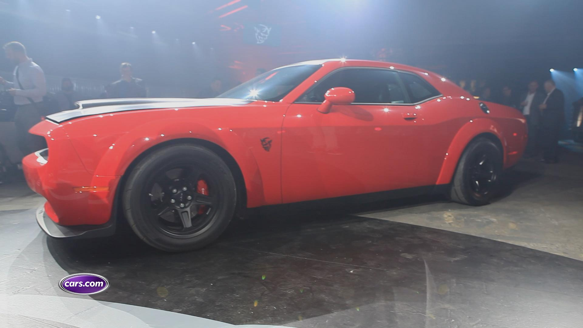 2018 Dodge Challenger SRT Demon Review: First Impressions