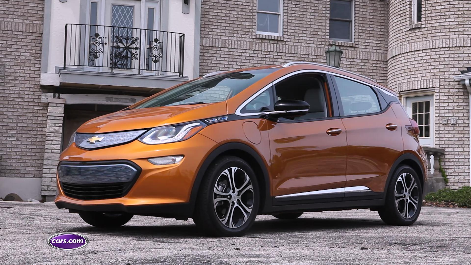 Chevrolet's new electric car is a milestone in the segment, setting the bar for range, price, features and comfort. The Bolt EV has electric-car looks but drives a lot like a regular car — with just a few exceptions. Watch the video for more.