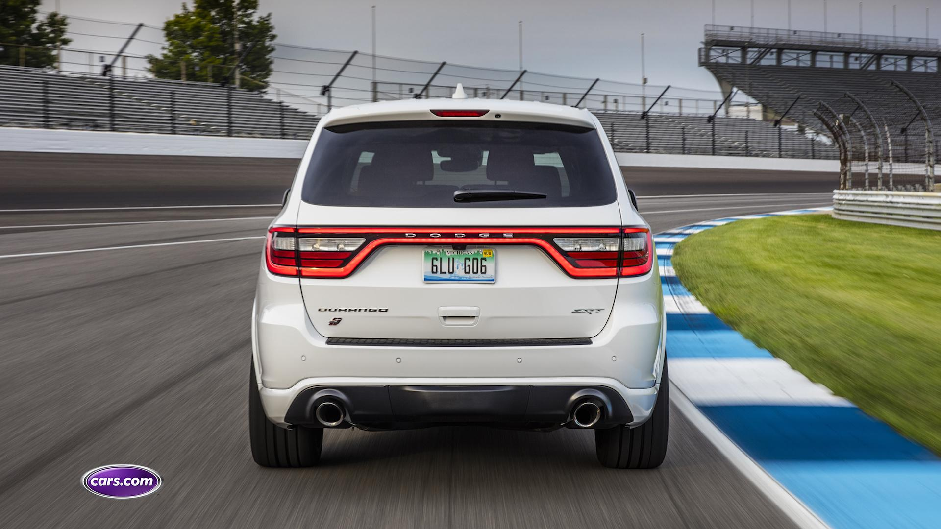 2018 Dodge Durango SRT: Exhaust