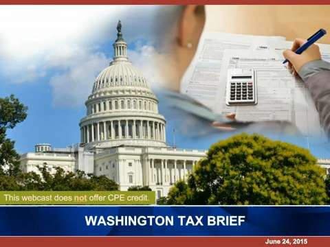 Washington Tax Brief