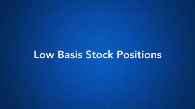 Low Basis Stock Positions with Bob Keebler
