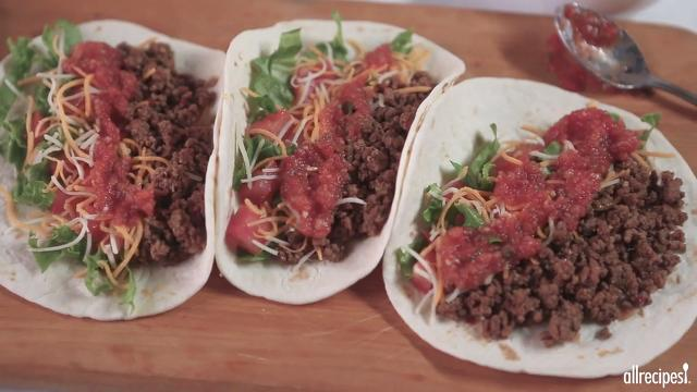 Beef recipes allrecipes ground beef with homemade taco seasoning mix forumfinder Image collections