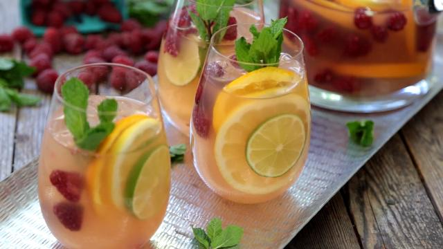 Sunset sangria recipe allrecipes thecheapjerseys Image collections